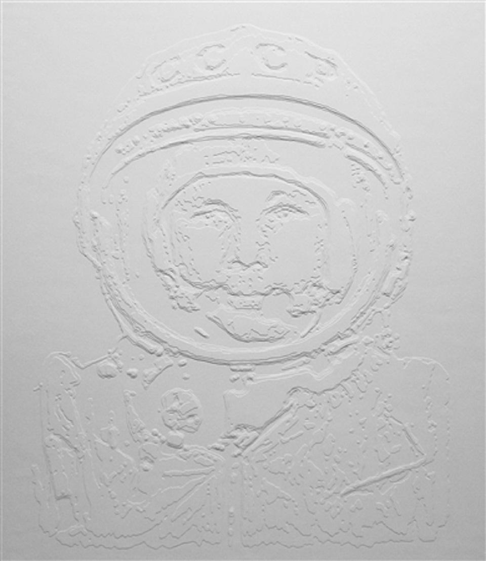 Daniele D'Acquisto – White Icons, J.Gagarin #II