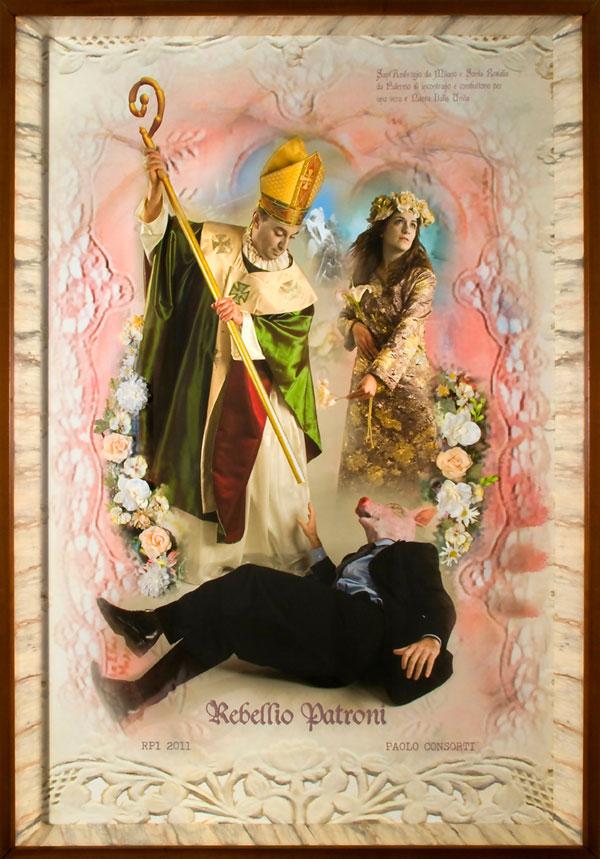 Paolo Consorti – Rebellio Patroni. L'incontro di Sant'Ambrogio e Santa Rosalia