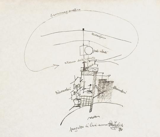 Piero Fogliati – disegno 1