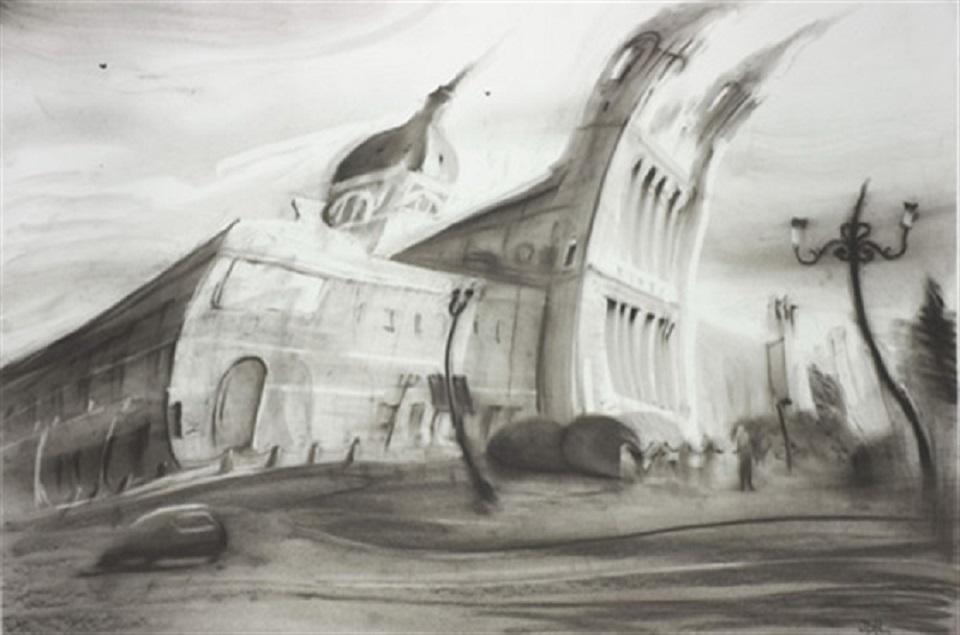 Javier Gil – catedral de la almudena (madrid 1950)