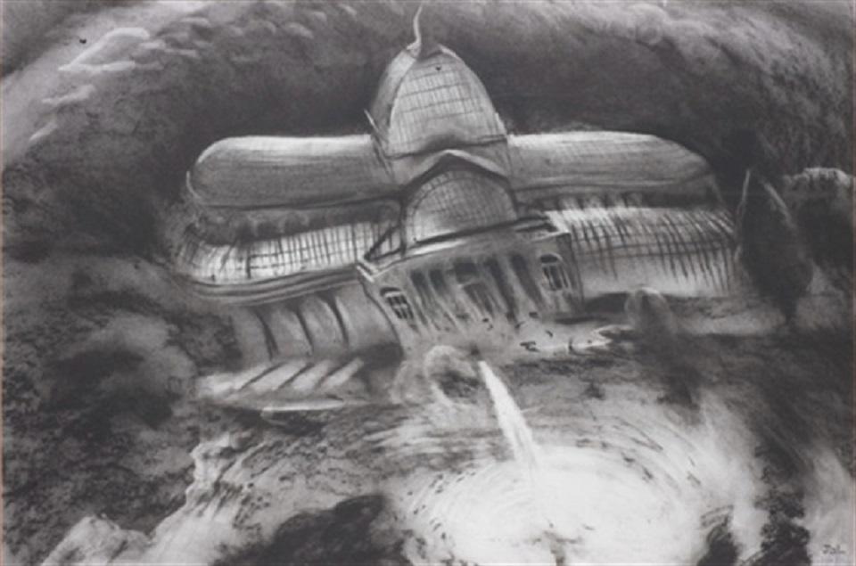 "Javier Gil – palacio de cristal ""ei retiro"" (madrid 1950)"