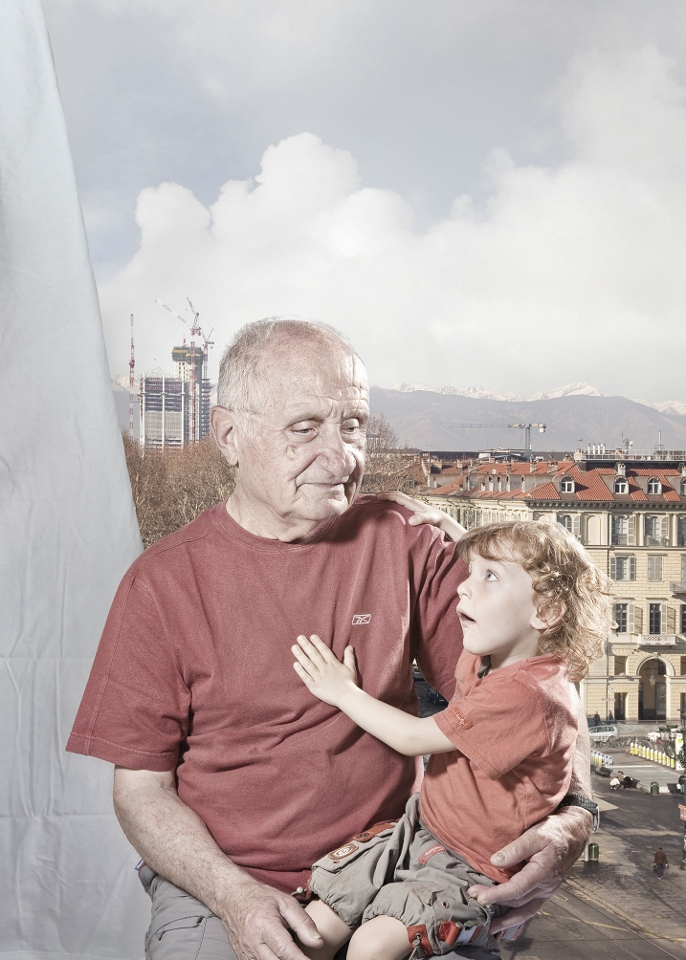 Aurore Valade -Le vieil homme et l'enfant. L'OR GRIS
